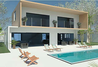 contemporary villa project Marbella